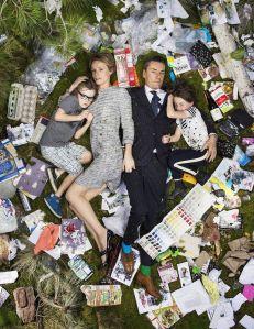 Alfie, Kirsten, Miles and Elly.